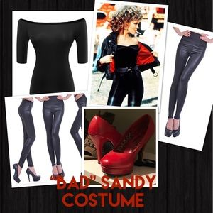Grease Bad Sandy Costume